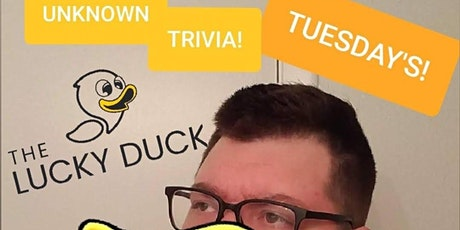 Unknown Trivia at The Lucky Duck. tickets
