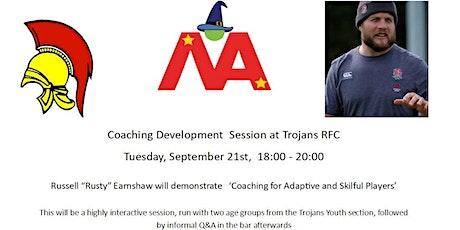 Magic Academy Coach Development at Trojans RFC tickets