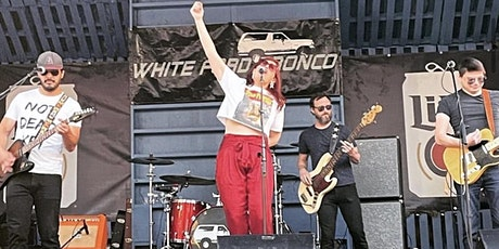 White Ford Bronco at the Bullpen - 9.24 tickets