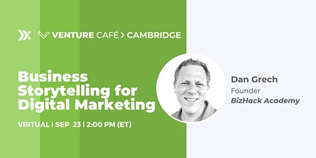 Business Storytelling for Digital Marketing tickets