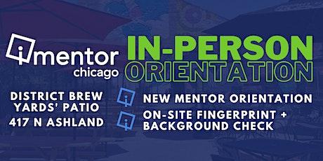 iMentor Chicago Mentor Orientation - District Brew Yards - 09/24/2021 tickets