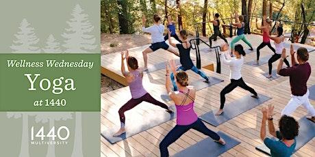 Wellness Wednesday Yoga at 1440 tickets