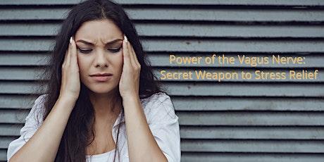 Power of Vagus Nerve: Secret Weapon Against Stress tickets