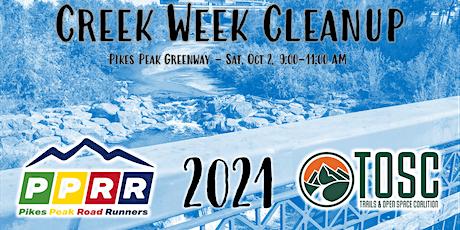 Pikes Peak Greenway Creek Week Cleanup tickets