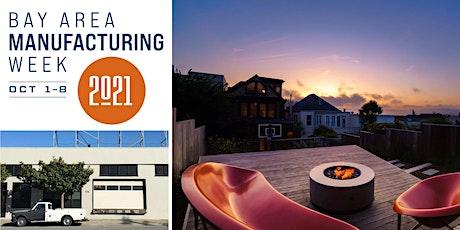 Galanter & Jones outdoor heated furniture - MFG Week Factory Tour tickets