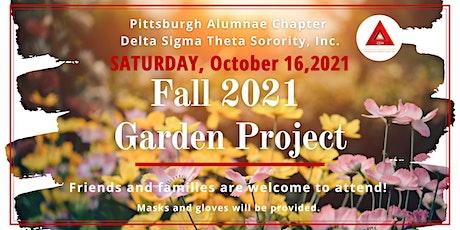 2021 Fall Garden Project tickets