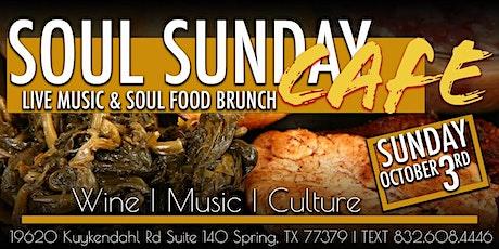 Soul Sunday Cafe | Live Music & Soul Food Brunch tickets