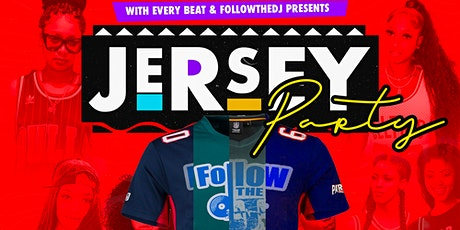 REP YA FAVORITE TEAM JERSEY PARTY tickets