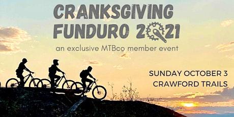 MTBco Cranksgiving Funduro 2021 tickets