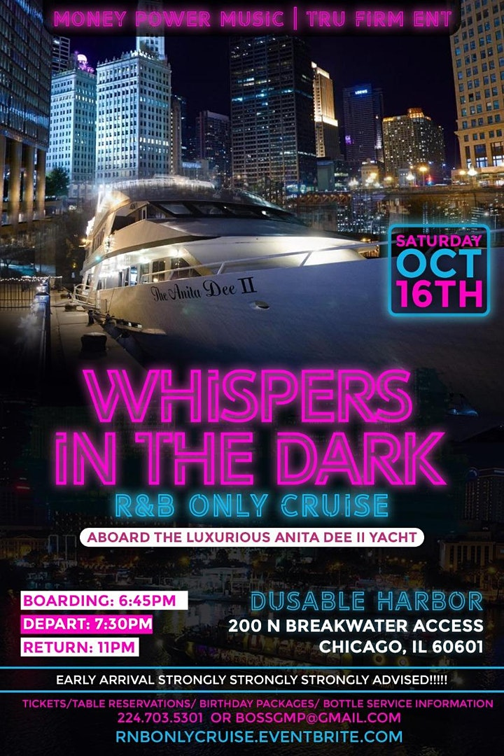 WHISPERS IN THE DARK (R&B ONLY CRUISE) image