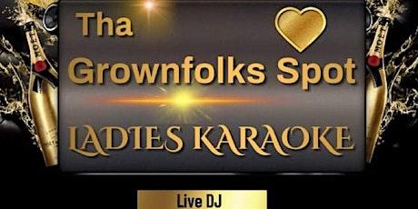 EVERY FRIDAY Ladies Karaoke Night tickets