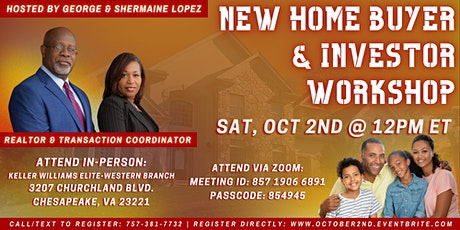 Avoid the Home Buyer Chaos - New Home Buyer and Investor Workshop tickets