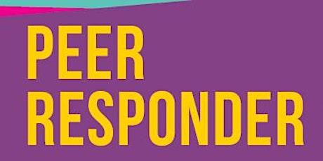 Peer Responder Development Day tickets