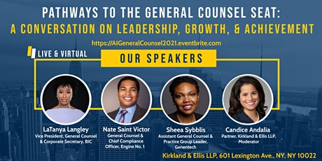 Pathways to the General Counsel Seat tickets