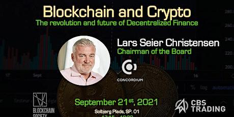 Blockchain & Crypto // Lars Seier Christensen tickets