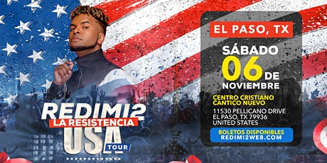 REDIMI2 : La Resistencia Tour USA- El Paso, Texas boletos