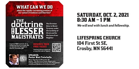 The Doctrine of Lesser Magistrates: The Christian Duty to Resist Tyranny tickets