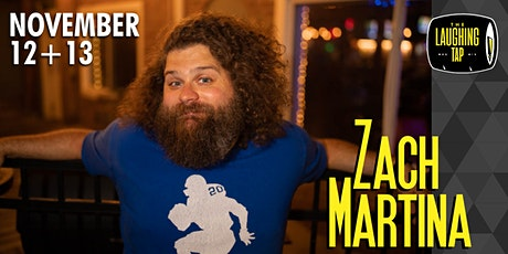 Zach Martina at The Laughing Tap tickets