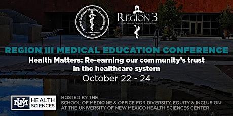 Region 3 Medical Education Conference (RMEC) 2021 Attendee Registration tickets