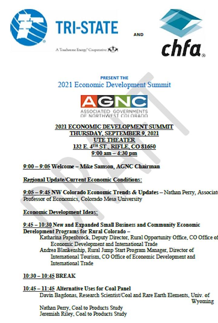 AGNC Economic Summit image