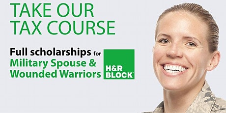 Wounded Warriors and Military Spouse Tax Course Scholarships Utah/Wyoming tickets