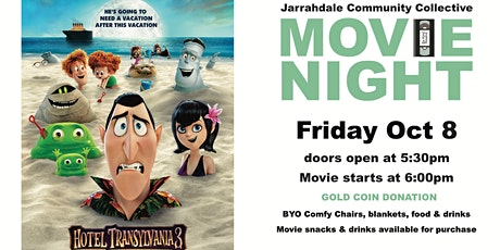 Outdoor Movie Night - Hotel Transylvania 3 (weather pending) tickets