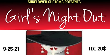 Girls Night Out Paint and Sip tickets