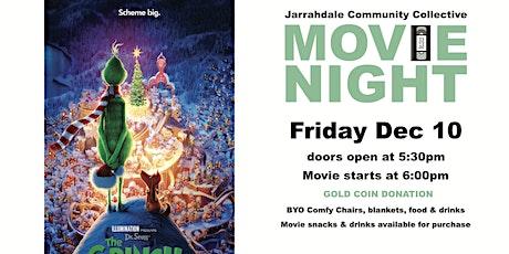 Outdoor Movie Night - The Grinch tickets