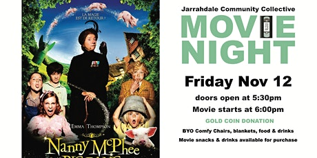 Outdoor Movie Night - Nanny McPhee Big Bang tickets