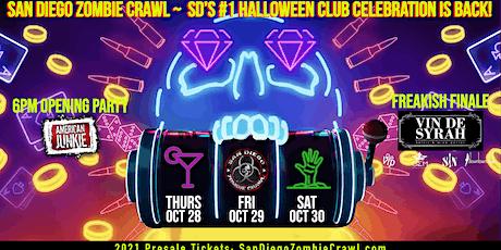 2021 Halloween: San Diego Zombie Crawl tickets