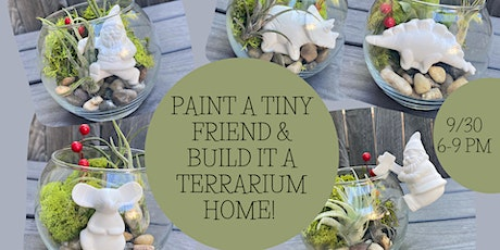 Paint a Tiny Friend & Build it a Terrarium Home at Grandma's House Brewery tickets