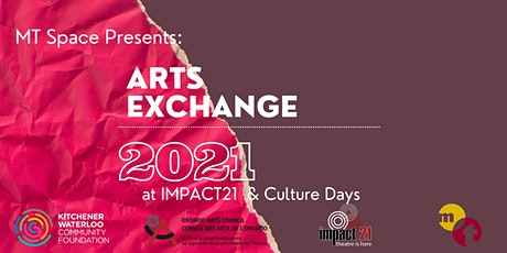 Arts Exchange 2021 @ IMPACT 21 & Culture Days tickets
