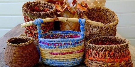 Beginners Basket Weaving with Zimmi Forest tickets