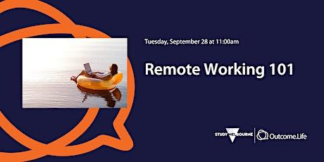 Remote Working 101 tickets