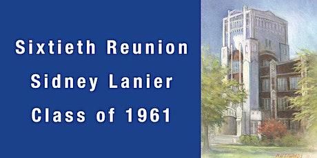 Sidney Lanier HS Class of 1961 Sixtieth Reunion  Montgomery, AL tickets