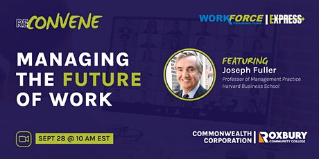 ReConvene Series: Managing the Future of Work tickets