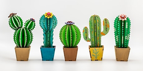 Coffee and Create  workshop.  Create A Cactus 3D Art Workshop tickets