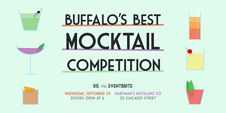 Buffalo's Best Mocktail Competition tickets