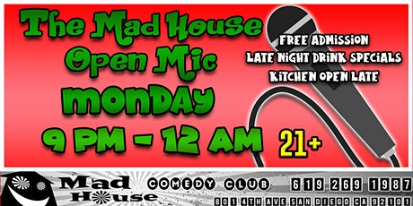 Open Mic Comedy - Free Show tickets