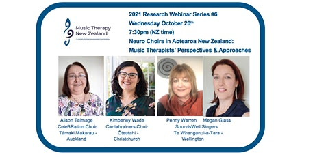 Music Therapy NZ Research Webinar #6 tickets