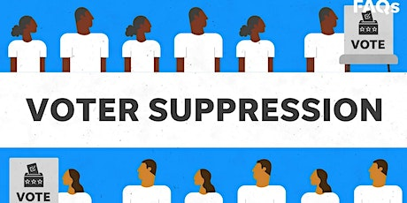 RPO CONNECTS:  VOTER SUPPRESSION IN NORTH CAROLINA tickets