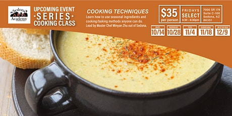 Cooking Class - THE FALL SERIES tickets