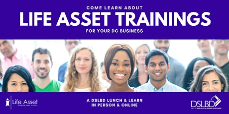 Lunch & Learn about the Life Asset micro loans AND free trainings Tickets