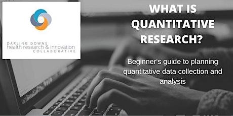 Quantitative Research Workshop tickets