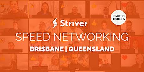 Striver Virtual Speed Networking Brisbane, Queensland tickets