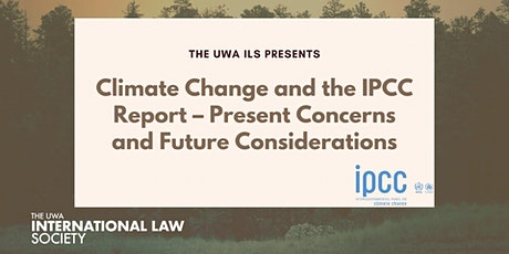 Climate Change and the IPCC Report Panel Discussion tickets