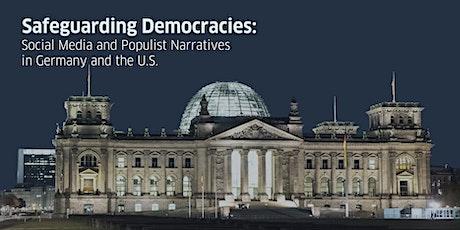 Safeguarding Democracies: Social Media and Populist Narratives tickets