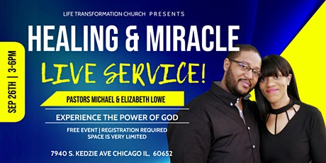 Live Healing and Miracle Service tickets