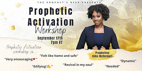 TPK's September Prophetic Activation Workshop tickets
