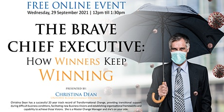 THE BRAVE CHIEF EXECUTIVE: How Winners Keep Winning tickets
